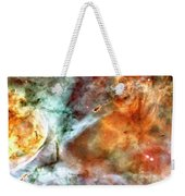 The Carina Nebula Panel Number Two Out Of A Huge Three Panel Set Weekender Tote Bag