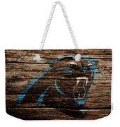 The Carolina Panthers 4a Weekender Tote Bag