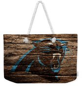 The Carolina Panthers 4b Weekender Tote Bag