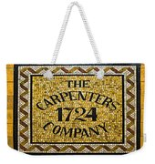The Carpenters Company Weekender Tote Bag