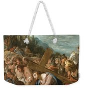 The Carrying Of The Cross Weekender Tote Bag