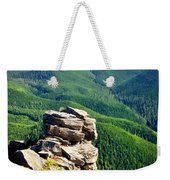 The Cascade Mountains Weekender Tote Bag