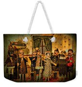 The Cast Takes A Bow Weekender Tote Bag