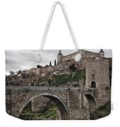 The Castle And The Bridge Weekender Tote Bag