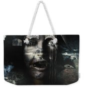 The Castle And The Vampires Tale Weekender Tote Bag