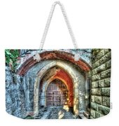 The Castle Door - La Porta Del Castello Weekender Tote Bag
