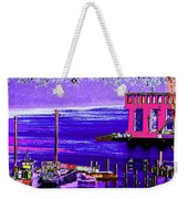 The Cat And The Tug Weekender Tote Bag