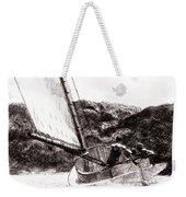 The Cat Boat, Edward Hopper Weekender Tote Bag