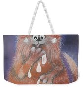 The Cat Who Got The Cream Weekender Tote Bag