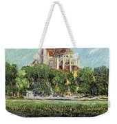 The Cathedral At Auxerre Weekender Tote Bag