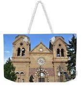 The Cathedral Basilica Of St. Francis Of Assisi, Santa Fe, New M Weekender Tote Bag