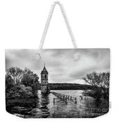 The Cathedral Of Fish Bw Weekender Tote Bag