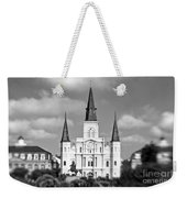 The Cathedral - Bw Weekender Tote Bag