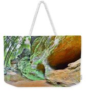 The Caves At Old Man's Gorge Trail Hocking Hills Ohio Weekender Tote Bag