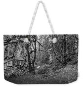 The Cedar Creek Mill Trail Weekender Tote Bag