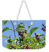 The Cedar In The Lilac Weekender Tote Bag