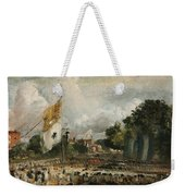 The Celebration In East Bergholt Of The Peace Of 1814 Concluded In Paris  Weekender Tote Bag