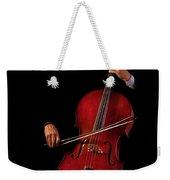 The Cellist Weekender Tote Bag