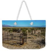 The Cemetery Weekender Tote Bag