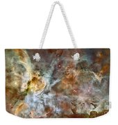 The Central Region Of The Carina Nebula Weekender Tote Bag by Stocktrek Images