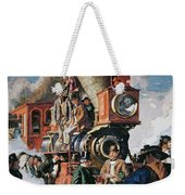 The Ceremony Of The Golden Spike On 10th May Weekender Tote Bag
