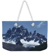 The Cerro Castillo Mountains Weekender Tote Bag