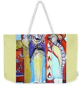 The Chains That Bind Us To Christ Weekender Tote Bag