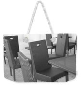 The Chairs Weekender Tote Bag