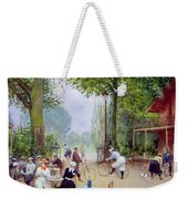 The Chalet Du Cycle In The Bois De Boulogne Weekender Tote Bag