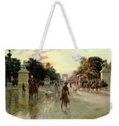 The Champs Elysees - Paris Weekender Tote Bag by Georges Stein