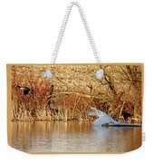 The Chase Is Over Weekender Tote Bag