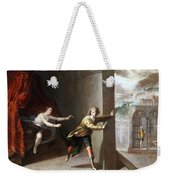 The Chastity Of Joseph Weekender Tote Bag
