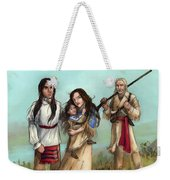 The Cherokee Years Weekender Tote Bag by Brandy Woods