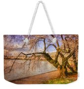 The Cherry Blossom Festival Weekender Tote Bag by Lois Bryan
