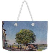 The Chestnut Tree At Saint-mammes Weekender Tote Bag