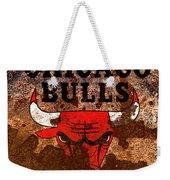 The Chicago Bulls R2 Weekender Tote Bag