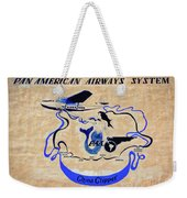 The China Clipper Weekender Tote Bag