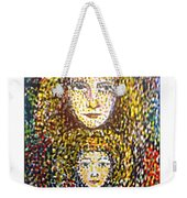 The Chosen One With The Holy Child Weekender Tote Bag