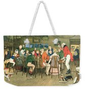 The Christmas Dinner At The Inn Weekender Tote Bag