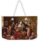 The Christmas Hamper Weekender Tote Bag