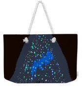 The Christmas Star Weekender Tote Bag