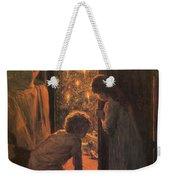 The Christmas Tree Weekender Tote Bag by Henry Mosler