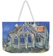 The Church At Auvers Sur Oise Weekender Tote Bag by Vincent Van Gogh
