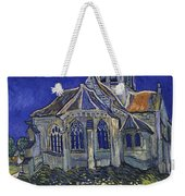 The Church At Auvers Weekender Tote Bag