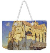 The Church At Moret Weekender Tote Bag