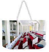 The Church Balcony Weekender Tote Bag