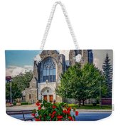 The Church In Summer Weekender Tote Bag