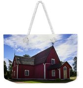 The Church Of Kustavi Weekender Tote Bag