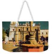 The Church Of San Juan Bautista Of Coyoacan 2  Weekender Tote Bag