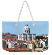 The Church Of Santa Engracia And Rooftops -- Lisbon Weekender Tote Bag